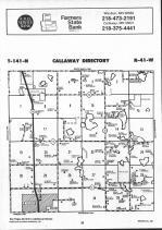 Callaway T141N-R41W, Becker County 1992 Published by Farm and Home Publishers, LTD